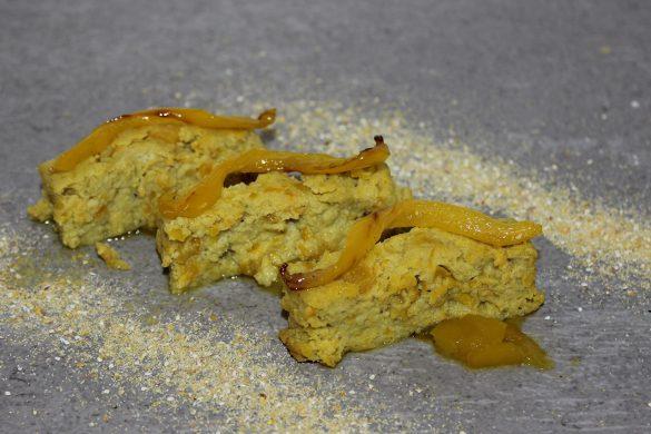 tortino ai peperoni gialli