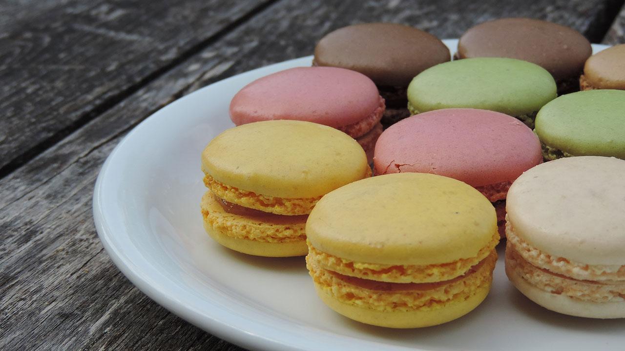 miscela gluten free per macarons