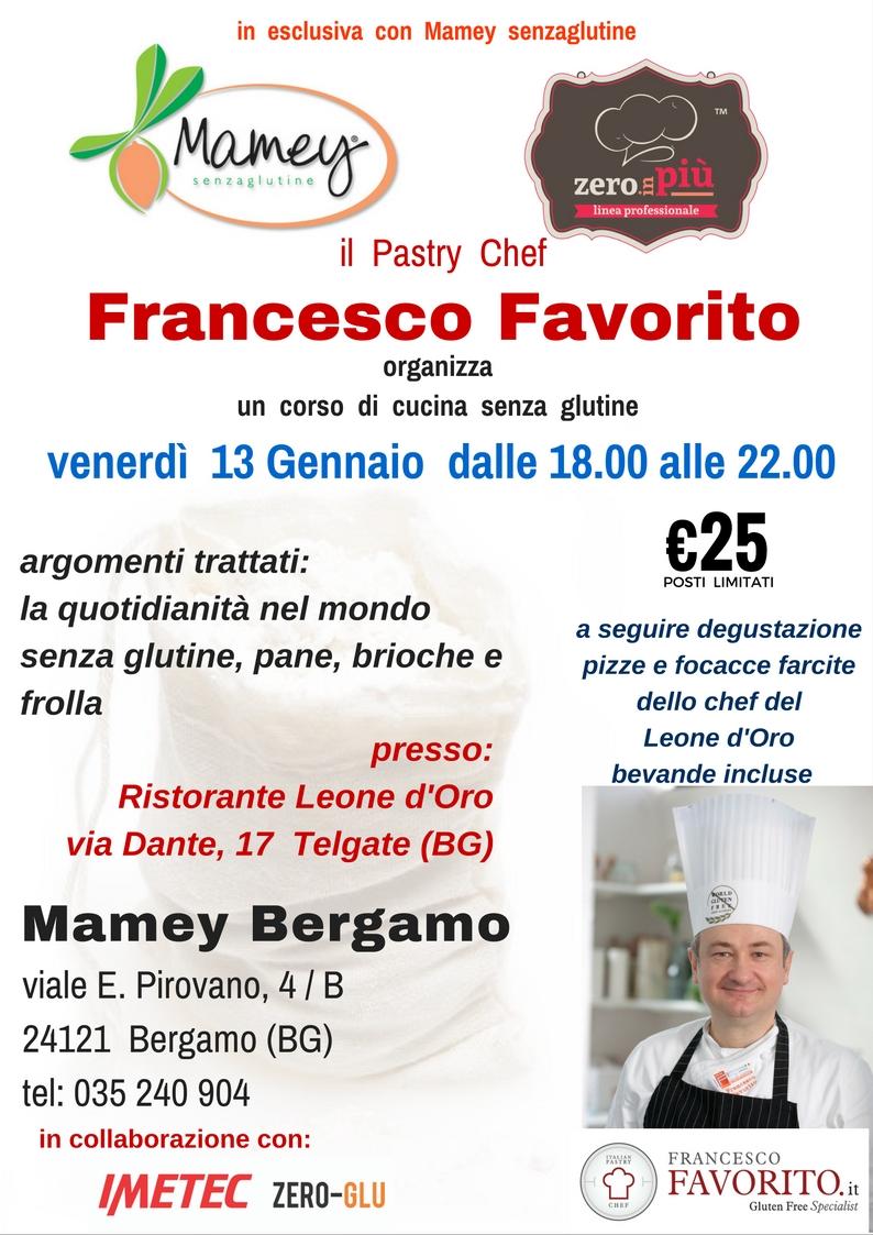 corso di cucina senza glutine / 13 gennaio 2017 bergamo - eventi ... - Corso Cucina Bergamo
