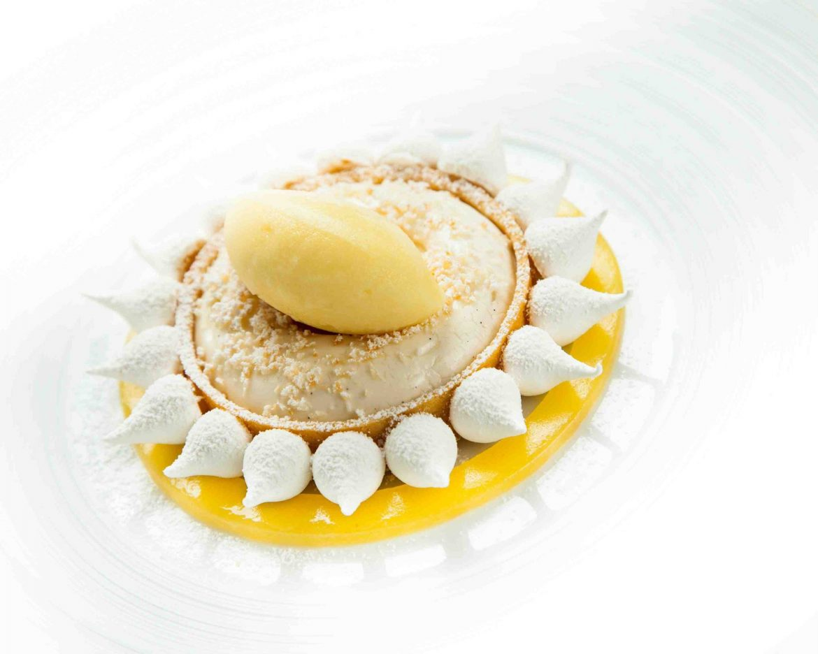 mousse all'ananas