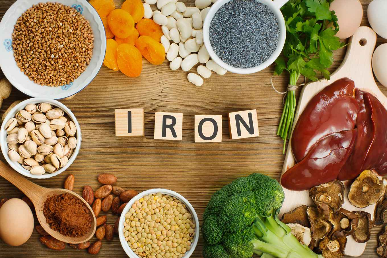 dieta in eccesso di ferro