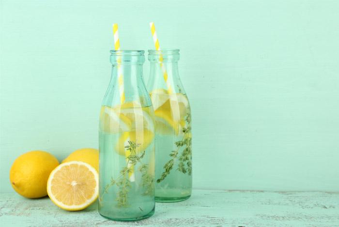 benefici acqua e limone