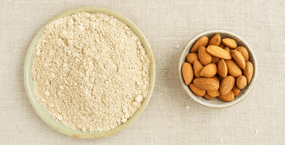 benefici della farina di mandorle